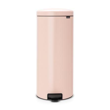 Brabantia Newicon 30 Litre Pink Pedal Bin Trash Can Brabantia Bins