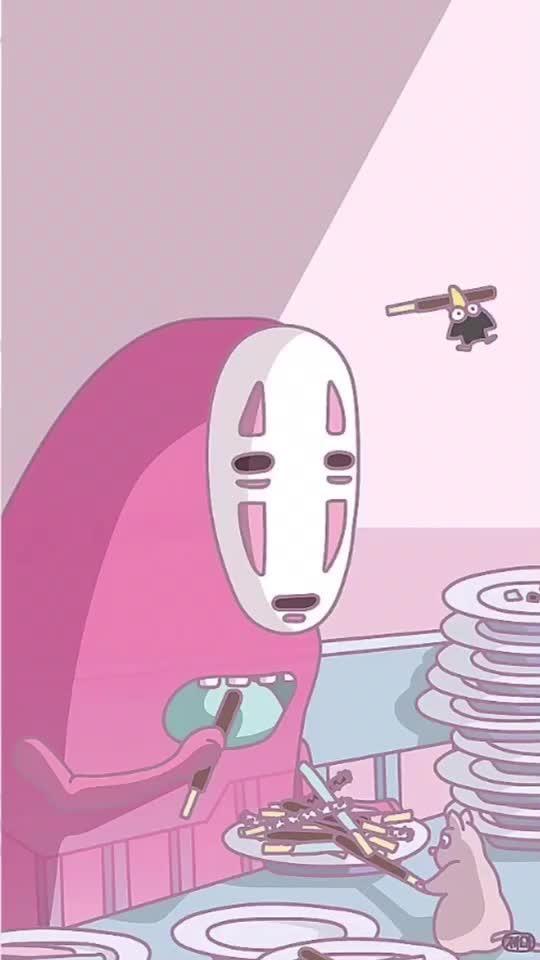 Cute Totoro Wallpaper Meme♡ On Tik Tok 韓国風の壁紙です🇰🇷 かわいい【2019】 Kawaii