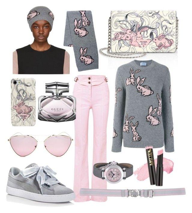 Lapins Roses Et Gris Beanie Prada OGokCfWds