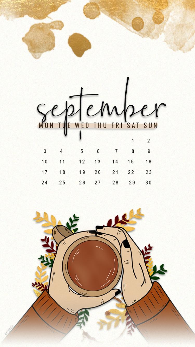 SEPTEMBER 2018 PHONE WALLPAPER wallpaper background
