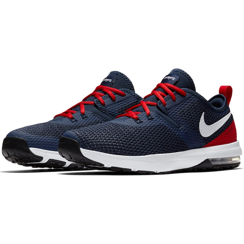 60df917c5875 New England Patriots Nike Air Max Typha 2 Shoes – Navy Red ...