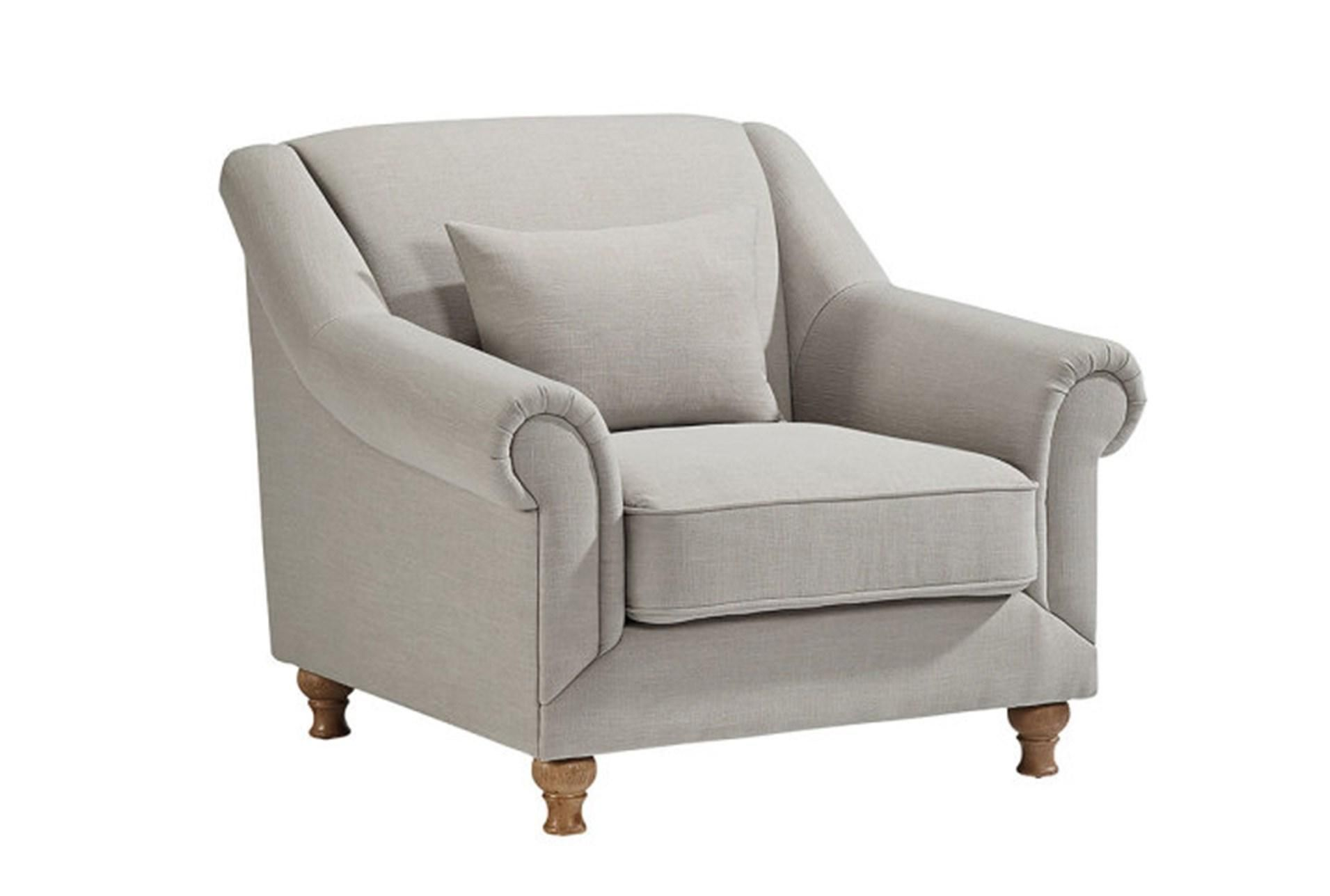 This Rose Hill Upholstered Chair has a timeless look with