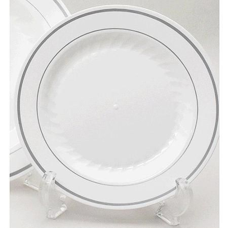 Heavyweight 10\  China Like Plates White (Pack of ...  sc 1 st  Pinterest : china like disposable plates - pezcame.com