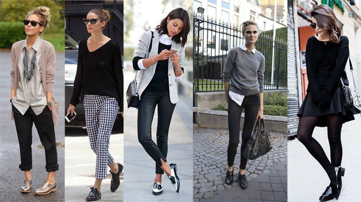 Aprende a usar de mil formas los zapatos Oxford