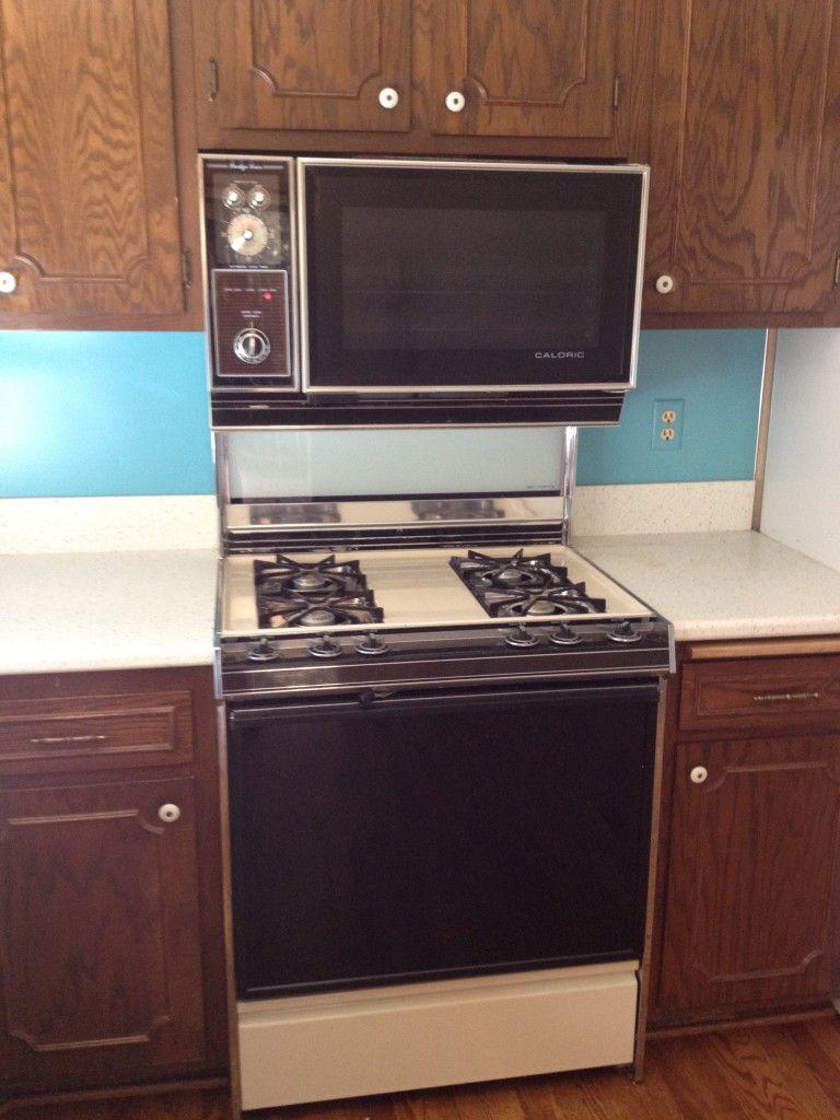 Vintage Caloric Range Vintage Stoves Kitchen Wall Oven