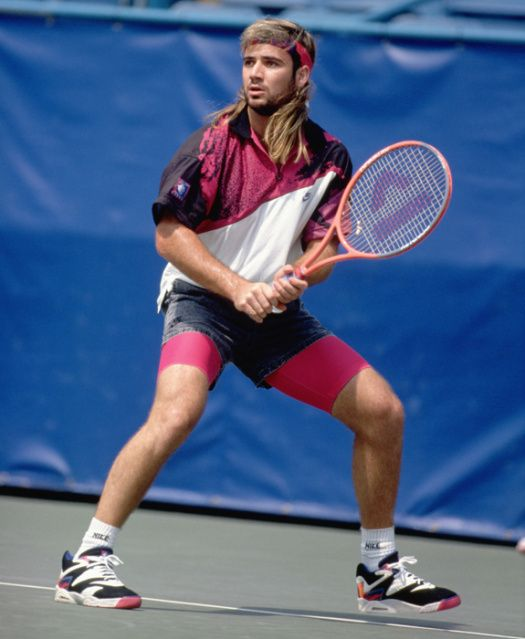 Andre agassi, Tennis fashion