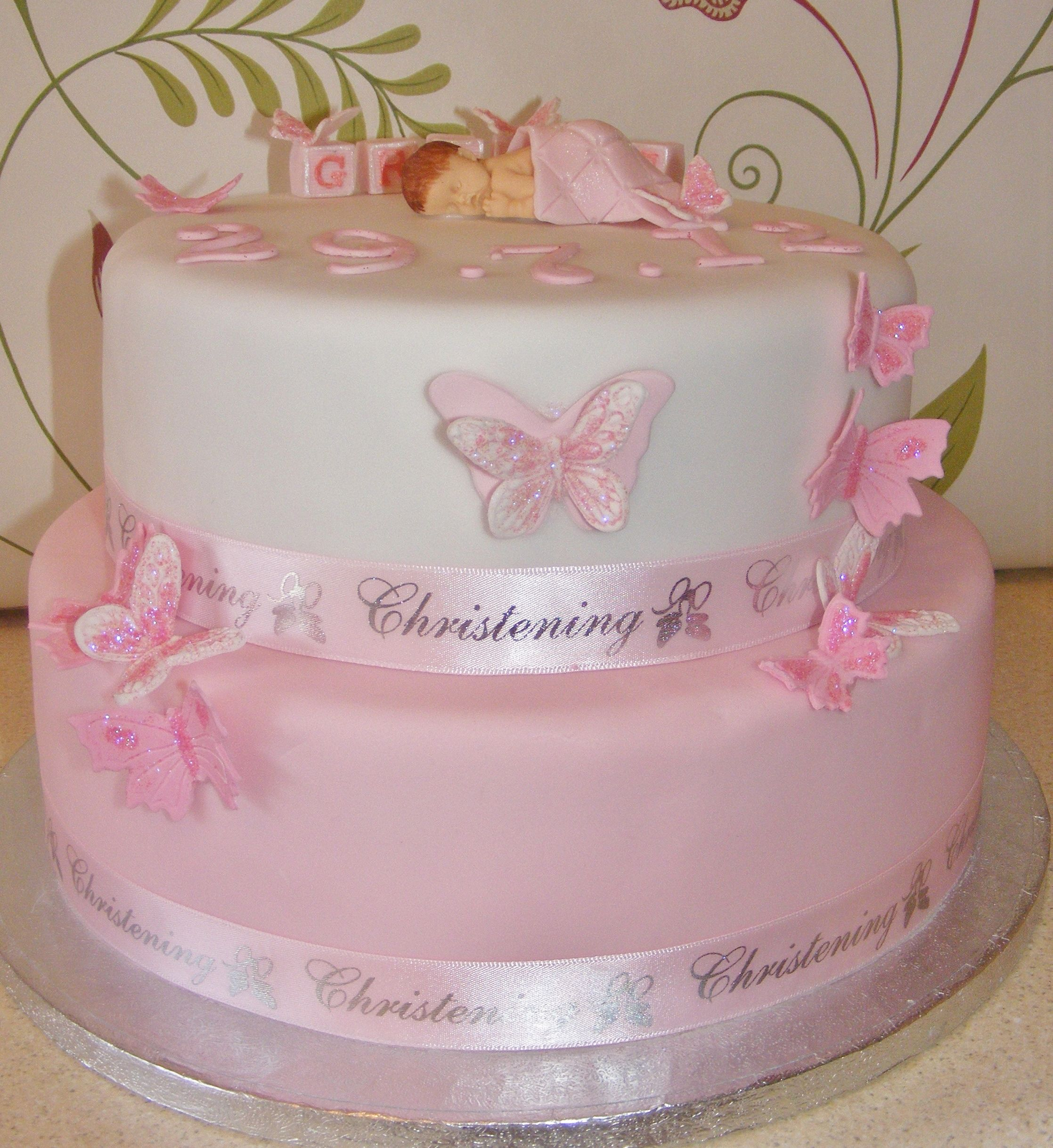 Gracie's Christening Cake
