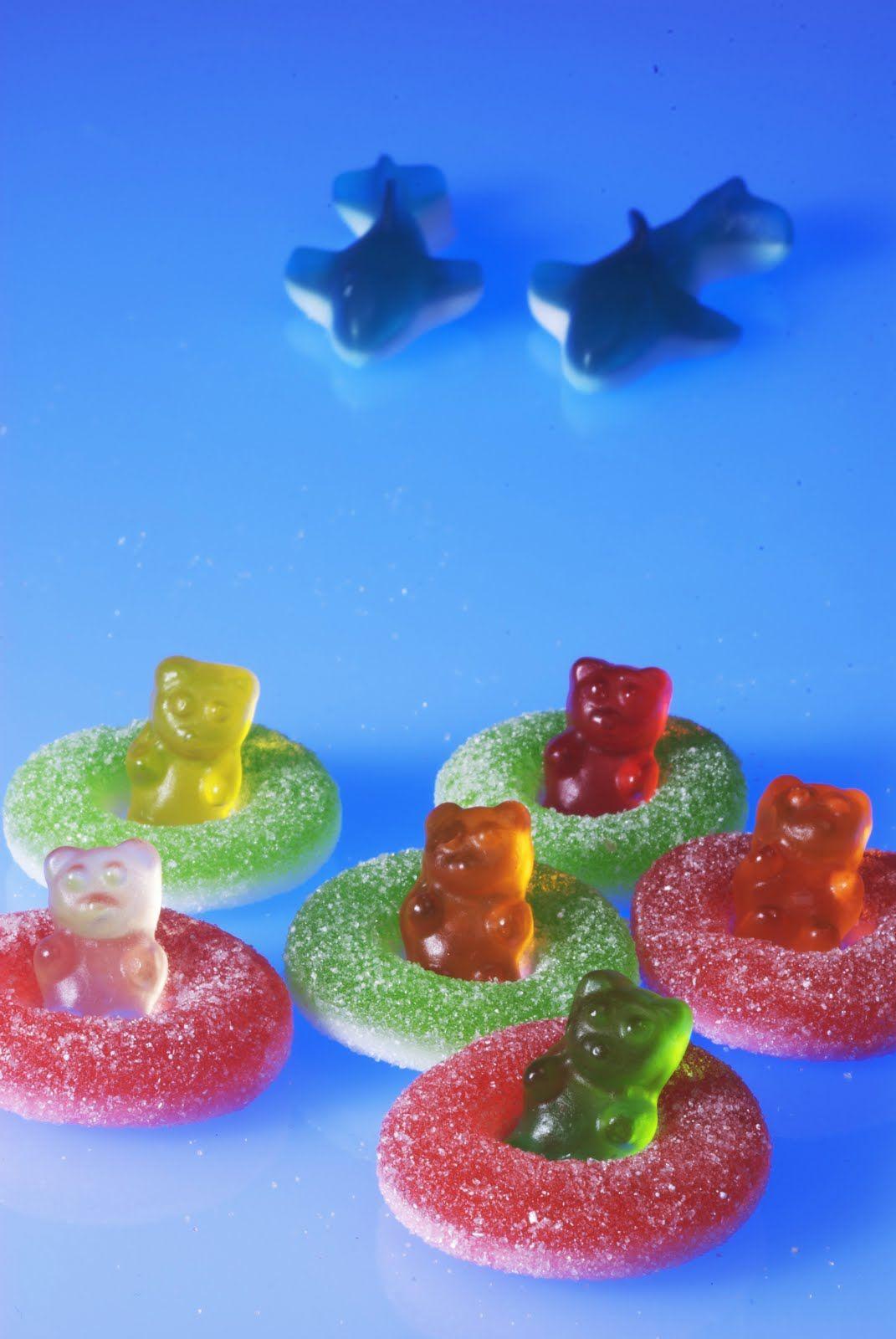 Gummy bear shark attack bears food and birthdays gummy bear shark attack arubaitofo Image collections