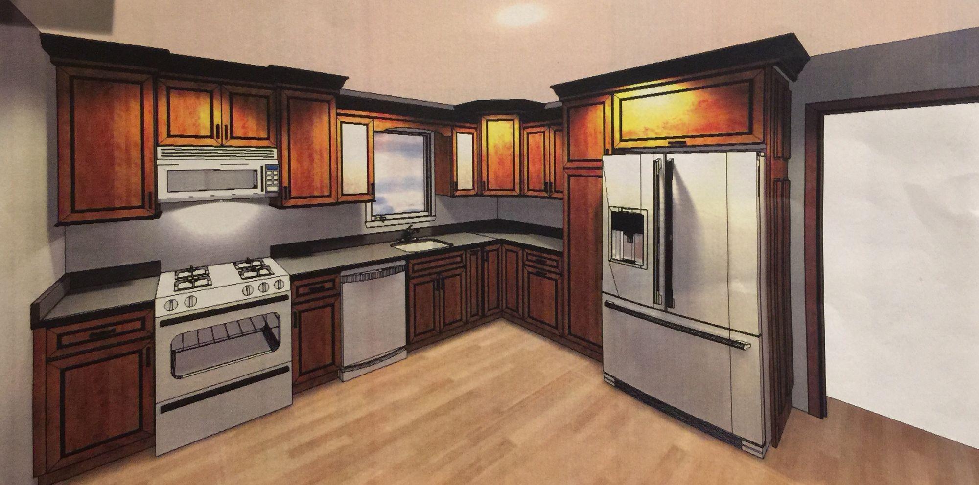 Best Home Depot Custom Kitchen Design Thomasville Belgrade 400 x 300