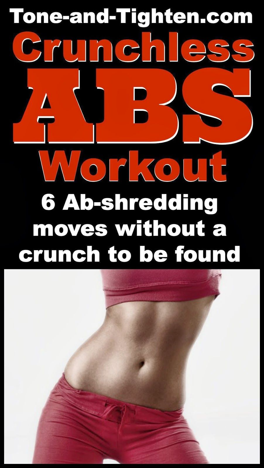 Complete Ab Workout Without Crunches Abs Workout Fun Workouts Workout