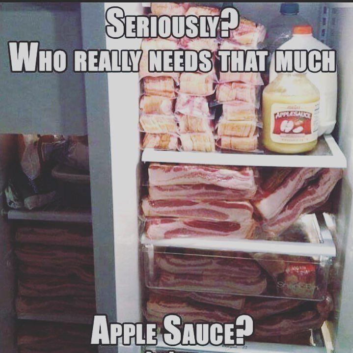 Pin By Karen Wilson On Humor Bacon Funny