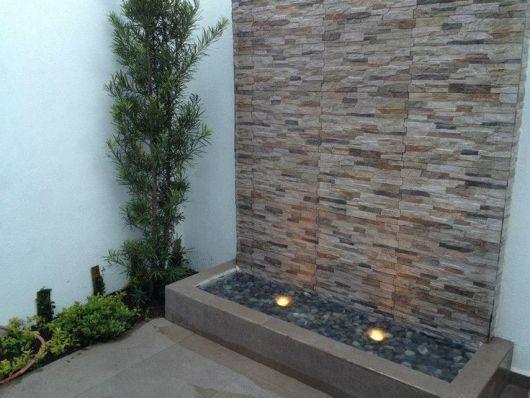 Piso que imita pedra material casa pinterest piso for Ceramica para paredes exteriores