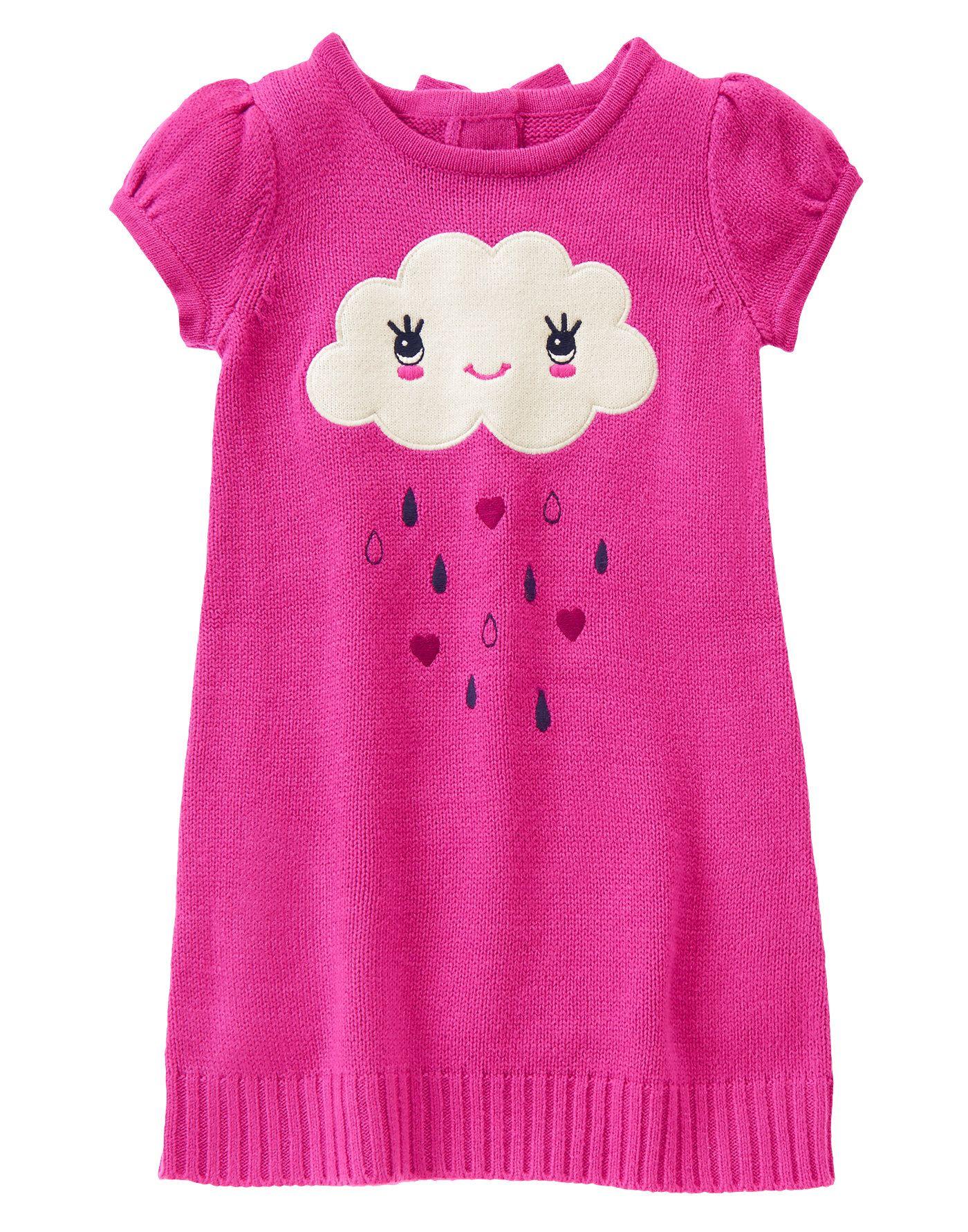 NWT Gymboree Loveable Lamb Sweater Dress Girls 9 12mo Baby Girls