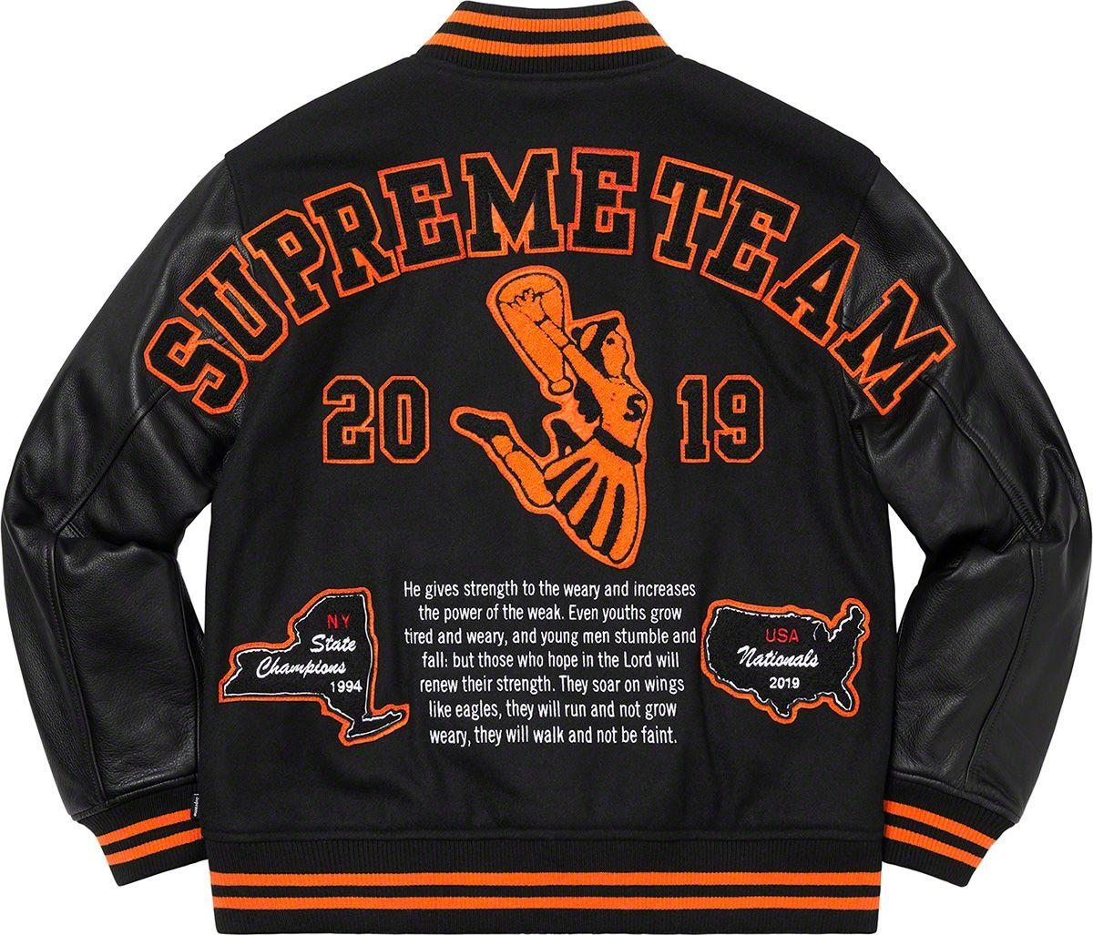 Supreme Team Varsity Jacket Jackets, Sweatshirts, Clothes