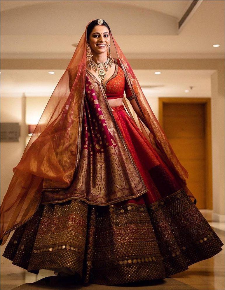Shop Frugal2fab Bridal Lehenga Red Indian Bridal Outfits Wedding Lehenga Designs