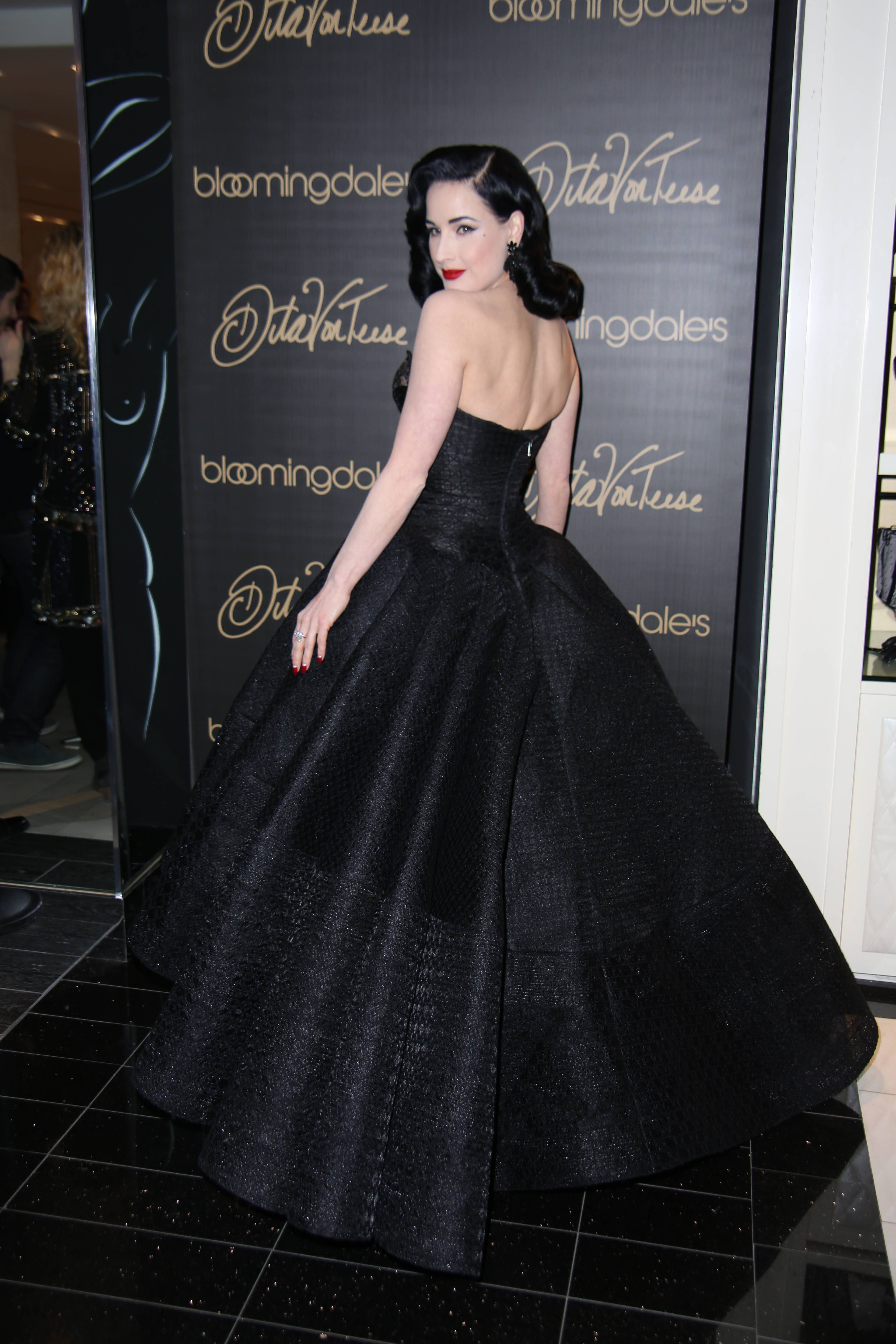 61710610e8b Dita Von Teese attending her Dita Von Teese Lingerie Collection Launch held  at Bloomingdale s 59th Street Store on March 20