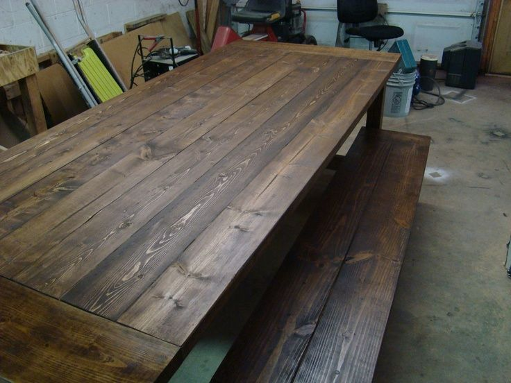 DIY Kitchen Table for 12