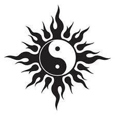 bdbc3b1070aa4 Resultado de imagem para tattoo tribal   Tattoos   Yin yang tattoos ...