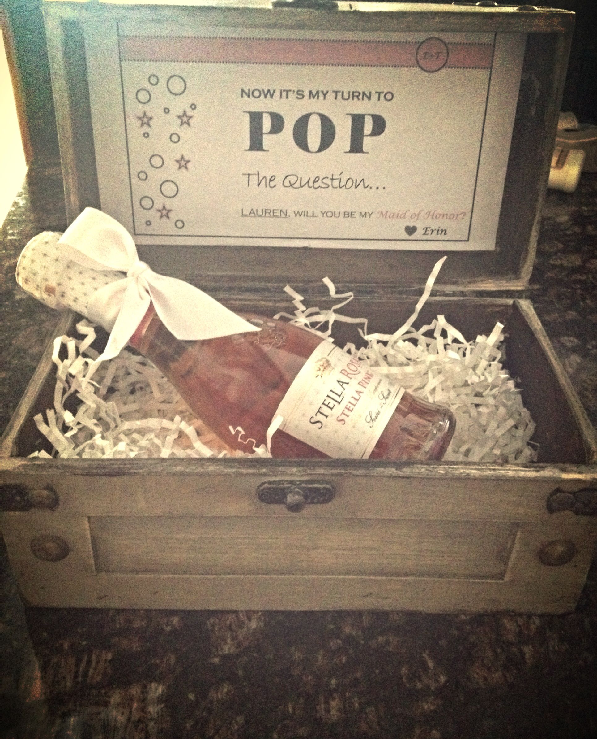How I Asked My Bridesmaids To Be In The Bridal Party Vintage Jewelry Boxes From