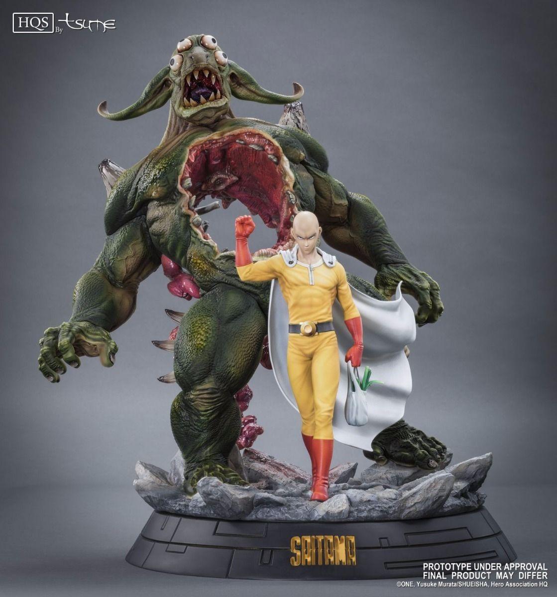 Saitama statue one punch man saitama one punch man anime toys anime merchandise