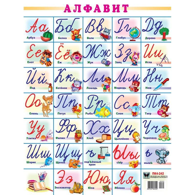 Картинки алфавита прописного