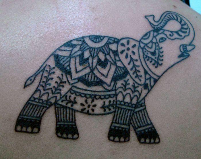 cf9a181c5 small+thai+elephant+tattoo | Dali Elephant Rib Side Tattoo | Tattoo ...