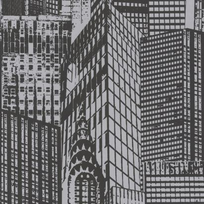 Cityscape Wallpaper In Black And White By Lutece Cityscape Wallpaper York Wallpaper Black Wallpaper