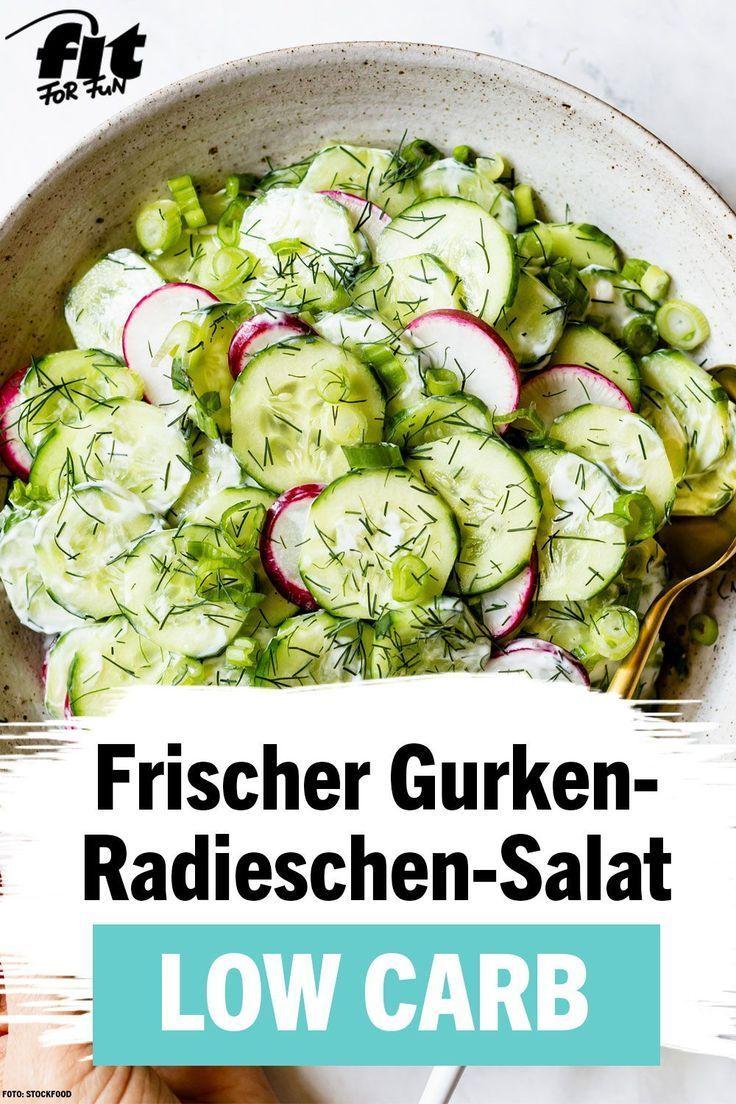 Photo of Frischer Gurken-Radieschen-Salat Rezept – FIT FOR FUN