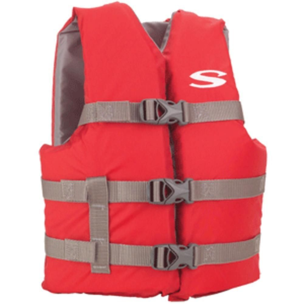 Stearns Classic Youth Life Jacket 5090lbs RedGrey
