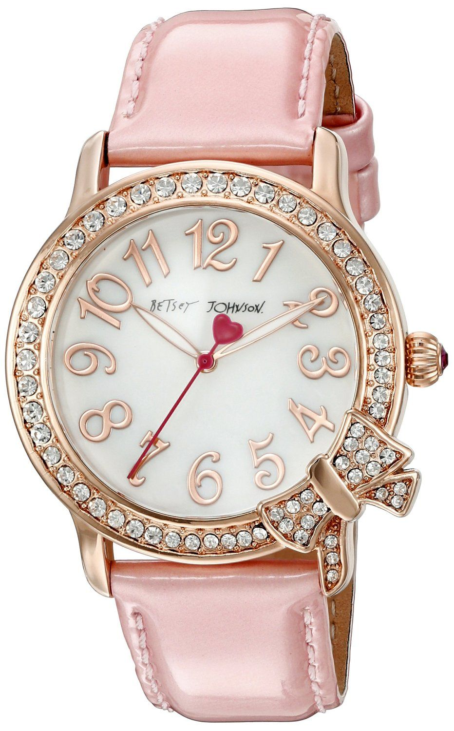 Pink Women's Watch from Betsey Johnson