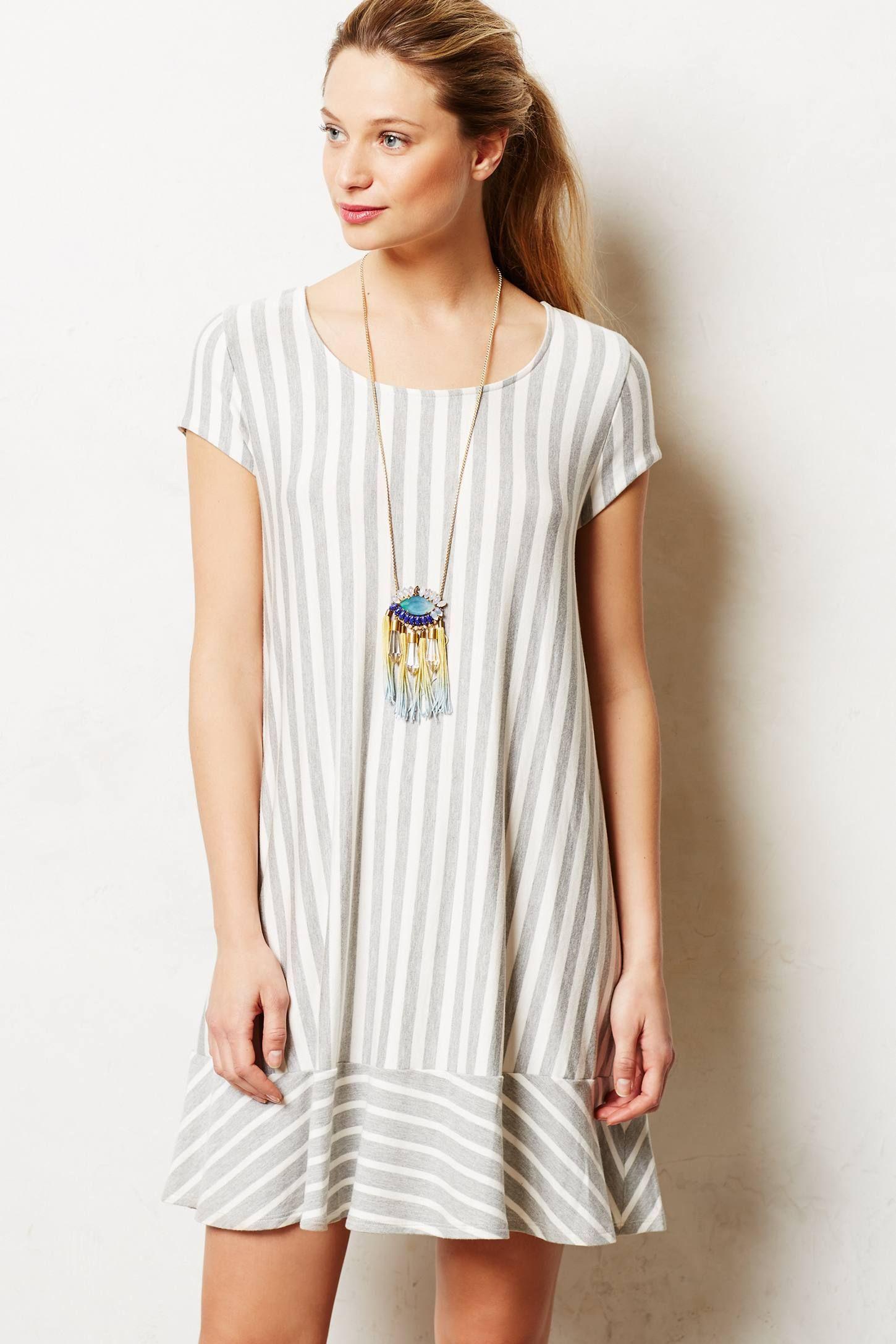 9295e050853 Striped Swing Tunic | Puella | Fashion, Dresses, Tunic
