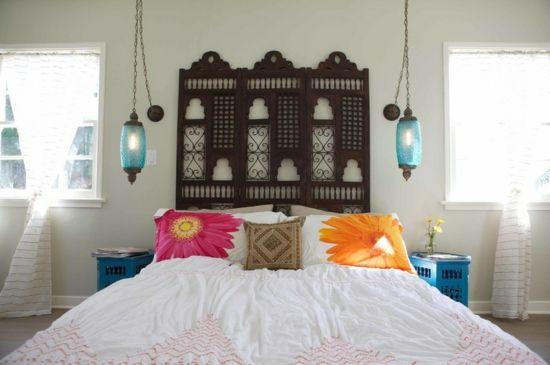 Ideen Fürs Schlafzimmer   Wenn Es Sich Um Luxus Handelt, Kann Nichts Besser  Als Ein Gepolstertes Kopfteil Sein, In Hoch Qualitativen Stoffen Umwickelt.