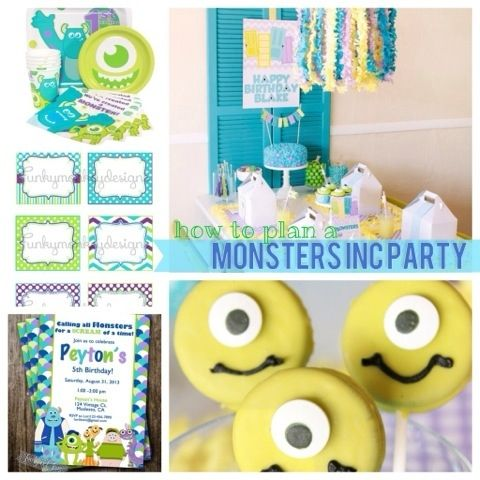 Monsters Inc Party Idea Pictures Photos and Images for Facebook