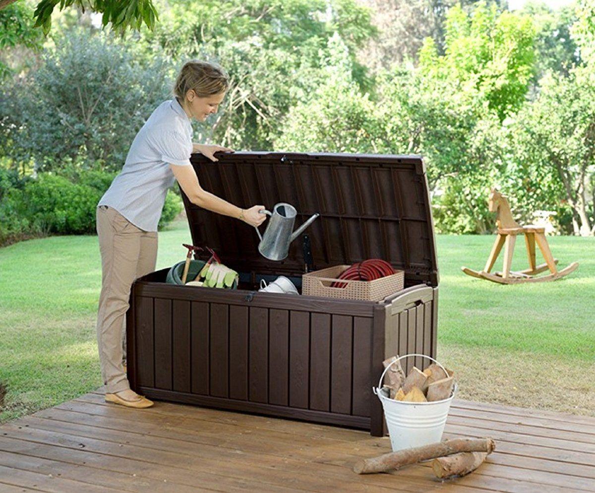 Gentil Plastic Deck Storage Container