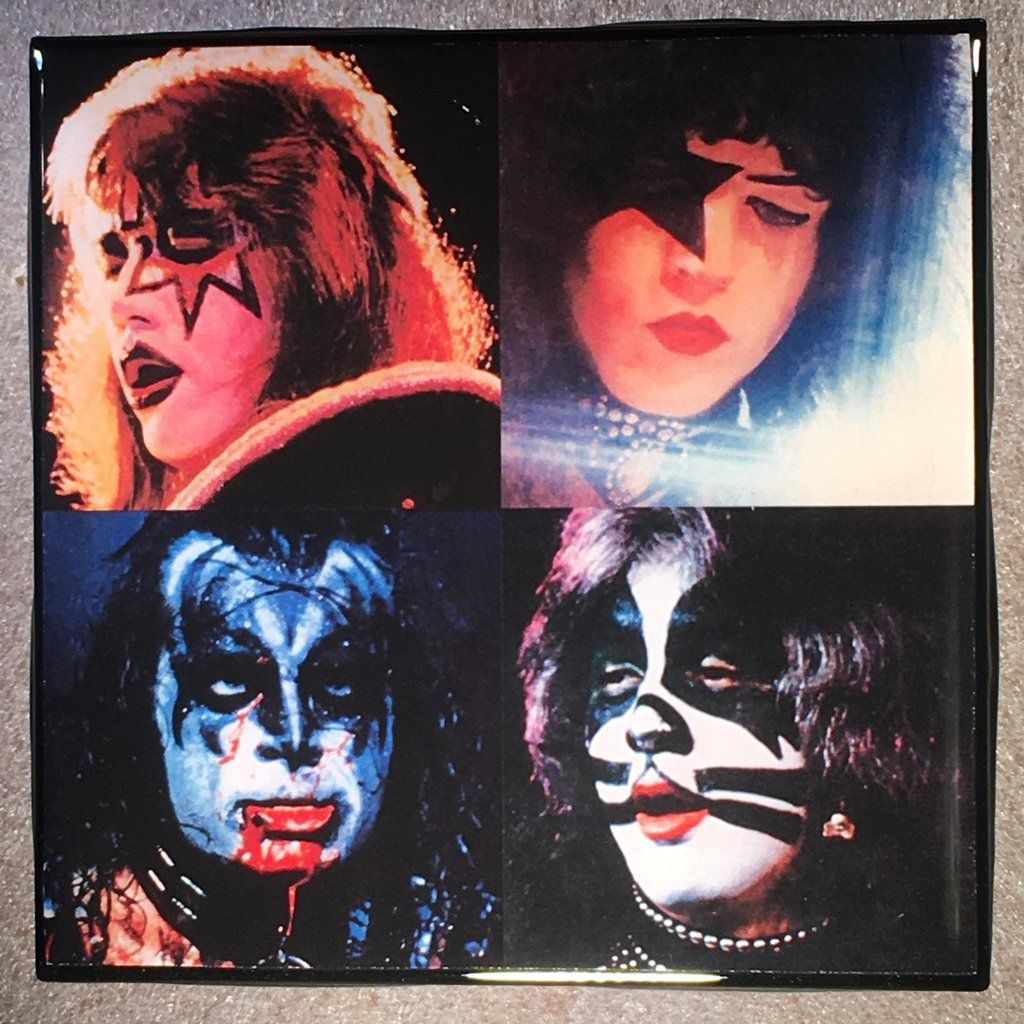 Kiss Alive Ii Back Cover Coaster Ceramic Tile Ceramic Tiles