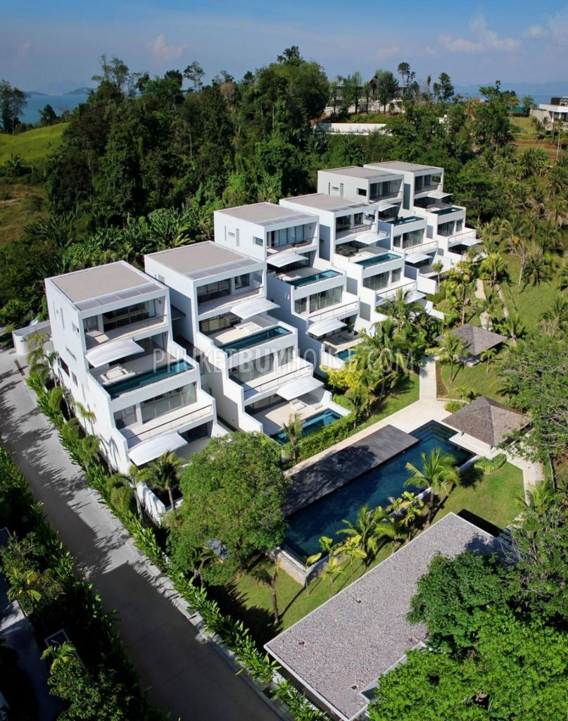 Seaview House Designed By Parsonson Architects: YAM4890: Peaceful Sea View Penthouse Apartment