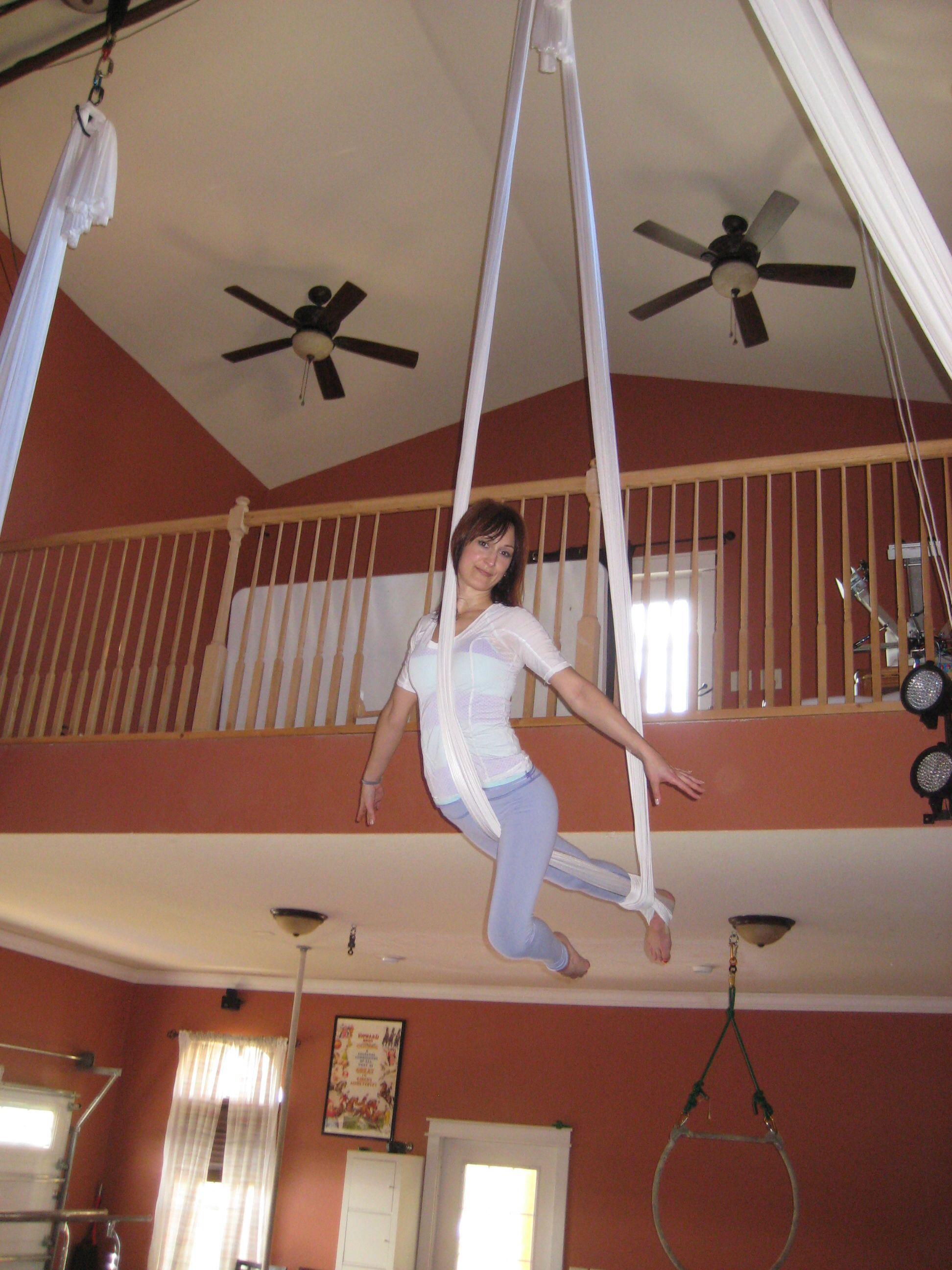 Cirque de soleil aerial yoga workout aerial
