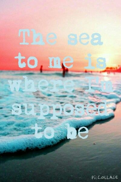 ~·~·~·~· The sea ~·~·~·~·