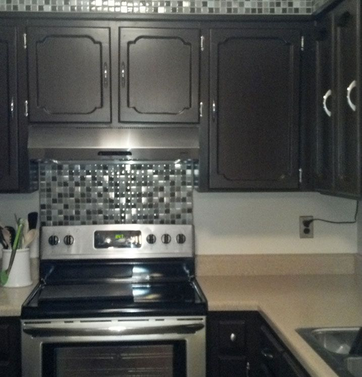 cabinet transformations submittedandrea g | kitchen makeover