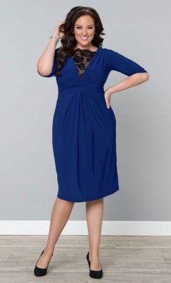 e9f1d2cf8 Ver Modelos De Vestidos Para Gorditas En Color Azul