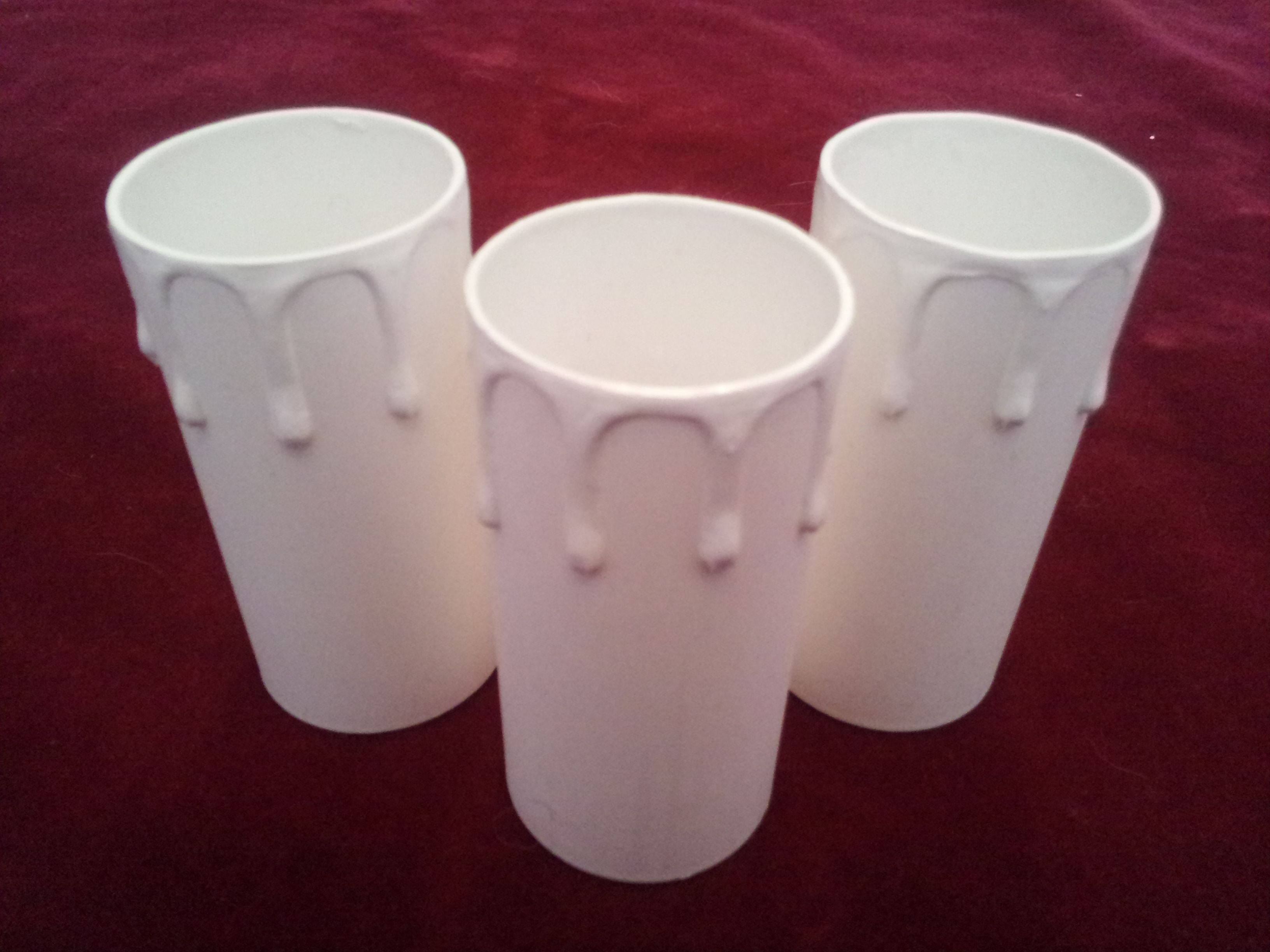 Chandelier candle covers white card 65mm x 24mm chandelier chandelier candle covers white card 65mm x 24mm chandelier restoration parts and accessories pinterest chandeliers and restoration arubaitofo Gallery