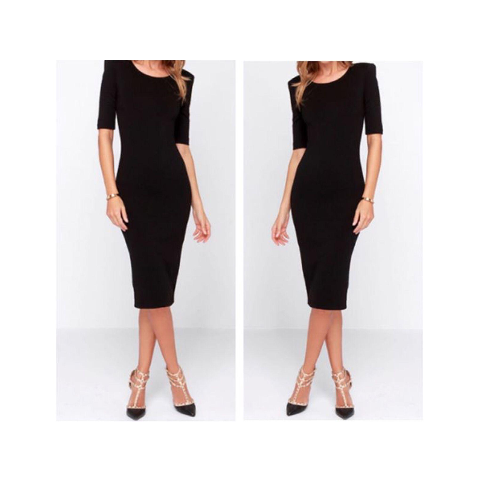 197524c8a2cde Rule of a Lady ... Three Words: Little.Black.Dress