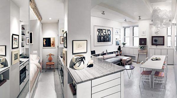 Impressive 375 Square Foot Greenwich Village Studio