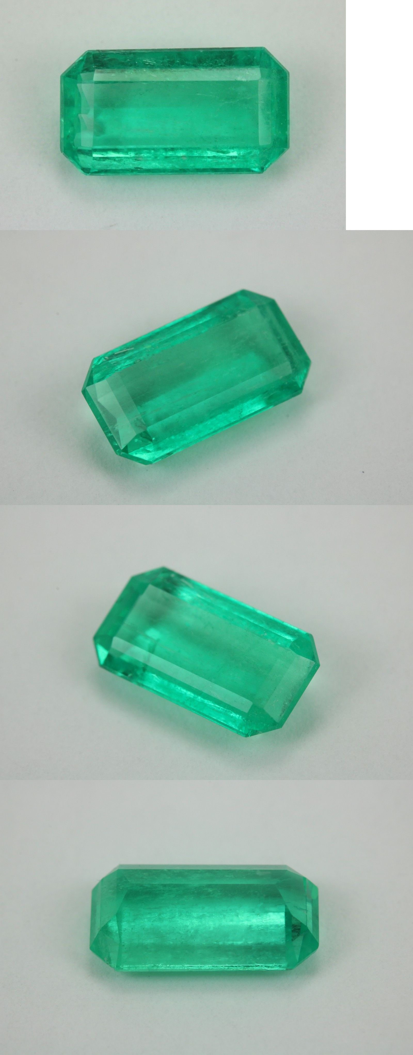 rectangle ct cut products skyjems emerald