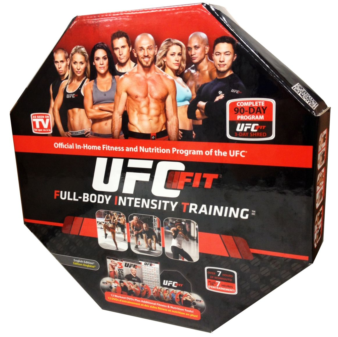 UFC Fit. Great powerhouse workout for guys or girls. Also