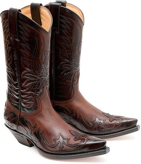 Snipe Toe Western Boots. Sendra Cowboystiefel 3241 Fuchsia - Boots ...