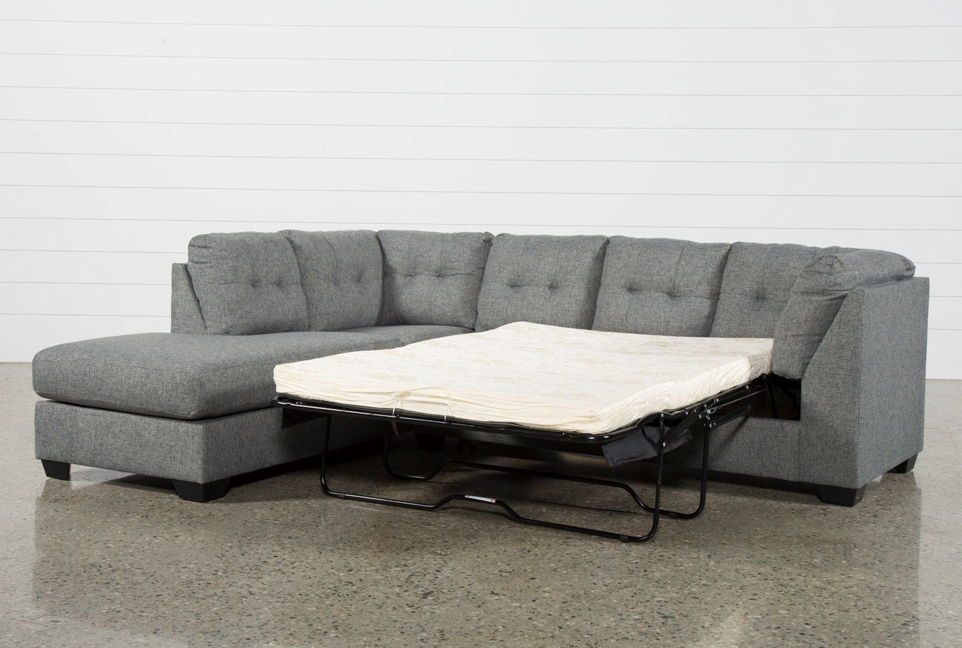 Wondrous Ashley Arrowmask 2 Piece Sectional Sofa With Sleeper Left Inzonedesignstudio Interior Chair Design Inzonedesignstudiocom