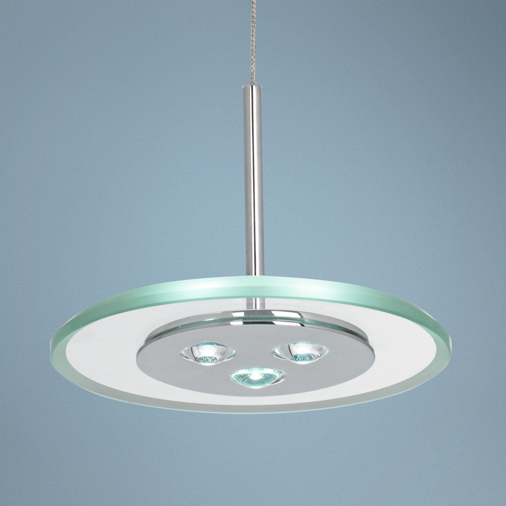 possini euro design lighting. Possini Euro Design Glass Disk 3-LED Mini Pendant Light - Lighting N