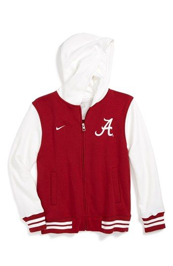 sale retailer 998c5 4a5c6 Nike 'Alabama Crimson Tide' Varsity Hoodie (Big Boys ...