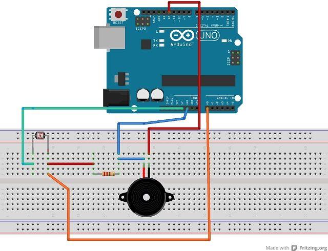 Tutorial #Arduino: Theremin básico con sensor LDR   Proyectos ...
